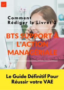 Livret 2 VAE BTS Support à l'Action Managériale